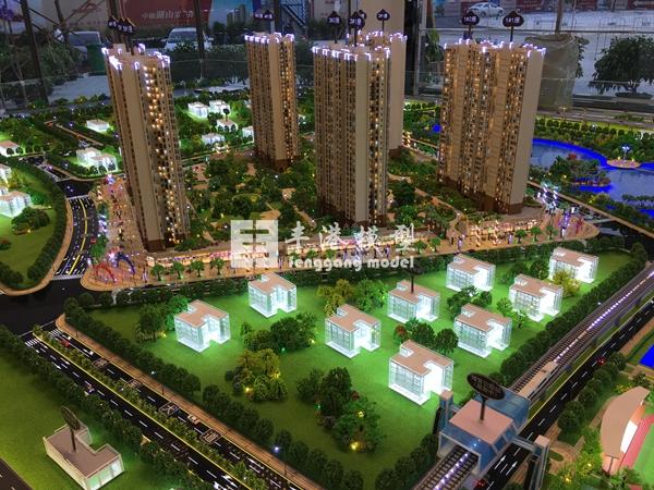 房地产售楼模型