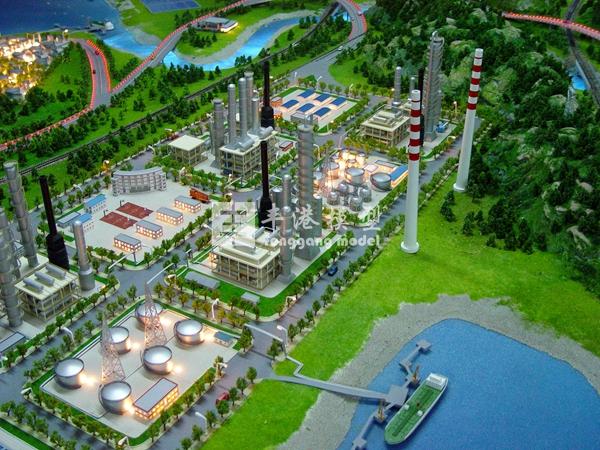 中国石化演示模型