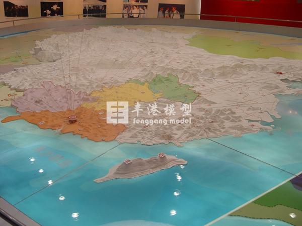 中国地形图