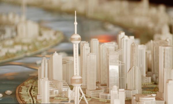 建筑模型如何才打造出商业氛围?