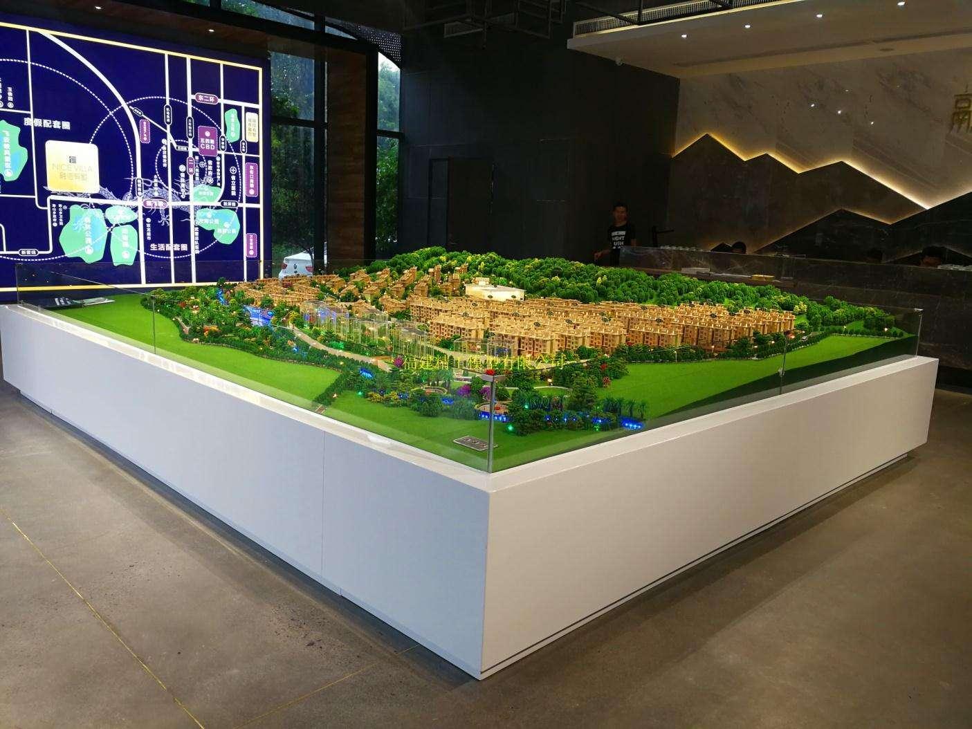 展厅沙盘模型如何吸引人?壮观只是一方面