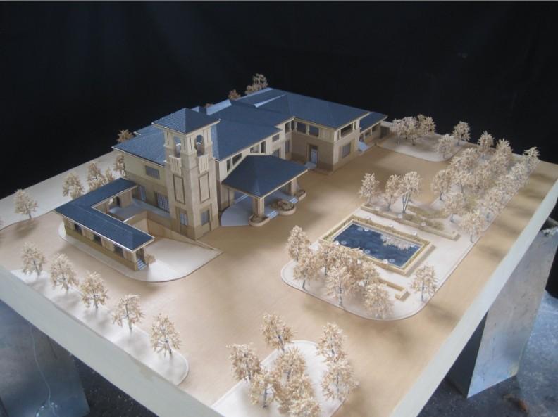 关于建筑模型的正确使用方式说明