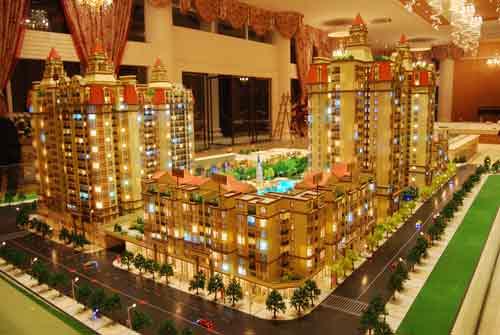 楼盘的成交率会受房地产模型的影响
