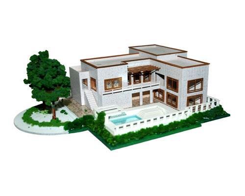 别墅模型如何惟妙惟肖?赖于方案设计