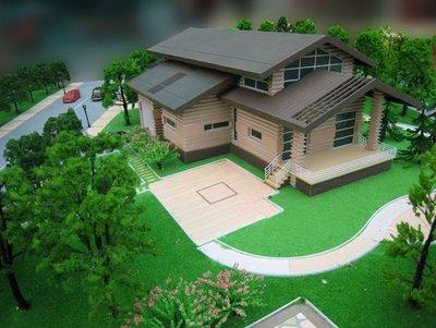 如何让建筑模型更加绚丽多彩?