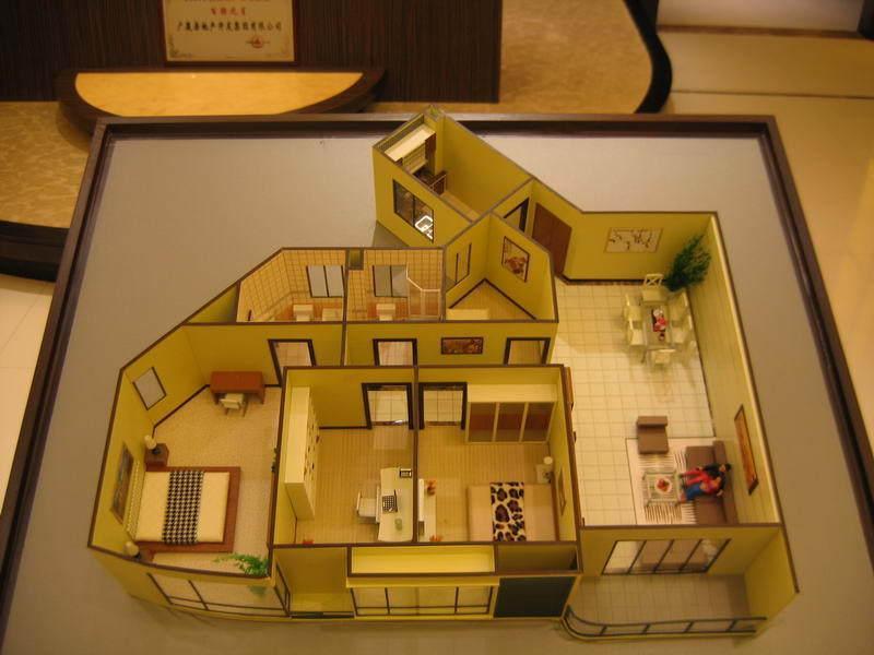 沙盘模型的制作材料在选择上是经过了层层考量的