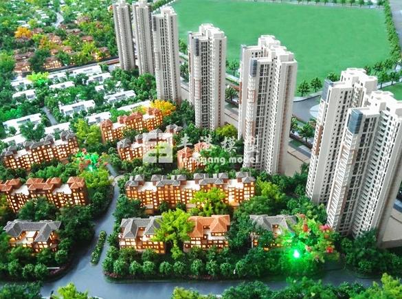 广州地产模型公司贵么?根据需求制作房地产模型